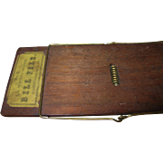 Vintage Bill File Clip Board 1868