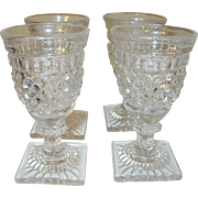 Vintage Cordial Glasses Set of 4