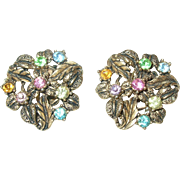 Vintage Earrings by Karu Art Inc