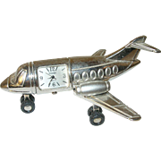 Vintage Plane Clock by Timex