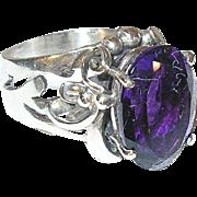 Vintage Sterling Ring by Les Baker