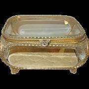Jewel Casket Beveled Glass 1880's