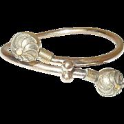 Victorian Gold Filled Etruscan Bracelet 1870's