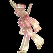 Vintage Lucite Cadet Soldier