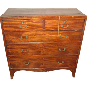 Antique French Veneer Chest of Drawers 1780's
