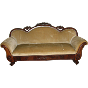 Antique Sofa 1850's Veneered