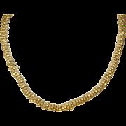 Vintage Sterling/Vermeil Necklace