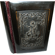 Antique Gutta Percha German Small Bible - Red Tag Sale Item