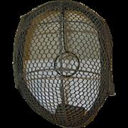 Vintage Fencing Mask 1920's