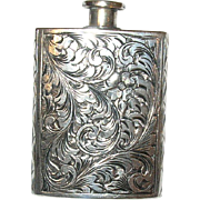 800 Coin Silver Scent Bottle 1890's