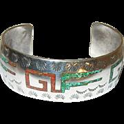 Native American Cuff Bracelet by Nila Cook Johnson