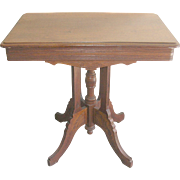 Victorian Side Table 1890's