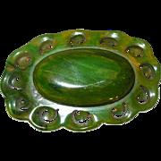 Vintage Bakelite Lg Brooch
