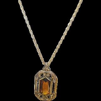 Vintage Gold Fill Necklace/Pendant
