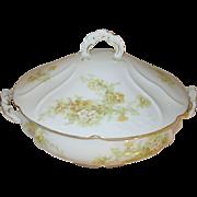 Vintage Porcelain Tureen Royal Austria by O/E.G