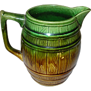 Vintage English Majolica Pitcher