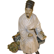 Vintage Chinese Clay Figure