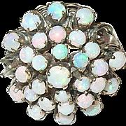 Edwardian 14K Domed Opal Ring