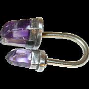Vintage Sterling Amethyst Ring by Los Castillo Taxco