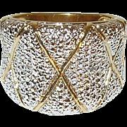 Vintage Sterling/Vermeil Ring