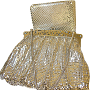 Vintage Whiting/Davis Silver Mesh Bag