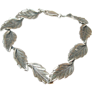 Vintage Sterling Link Bracelet by Beau