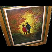 Illustrator Art Oil on Canvas by Shepherd