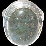Vintage Ring Sterling Labradorite