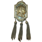 Vintage Egyptian Revival Pendant