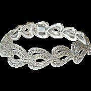 Vintage Marcasite Link Bracelet