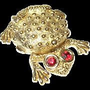 Vintage Scent Box Frog Design