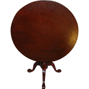 Vintage Toy Miniature Tilt Top Table
