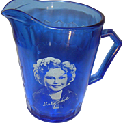 Depression Glass Shirley Temple Pitcher