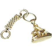 Victorian Watch Fob Rolled Gold