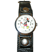 Vintage Walt Disney Productions Mickey Mouse Watch