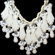 Vintage Bibb Necklace 1930's
