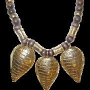 Vintage Bibb Necklace by Cadoro