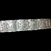 Vintage Bracelet Sterling Paris Souvenir Links