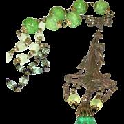 Vintage Czechoslovakian Necklace