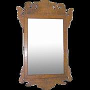 Antique Tiger Maple Mirror 1790's-1820's