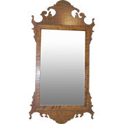 Antique Tiger Maple Mirror 1790's - 1820's