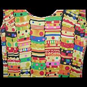 Vintage Dress Bakelite Bangle Print