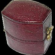 Vintage Ring Box