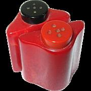 Vintage Bakelite Salt/Pepper Shakers