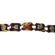Vintage Faux Tortoise Link Bracelet
