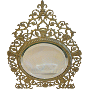 Antique 1890's Vanity Mirror