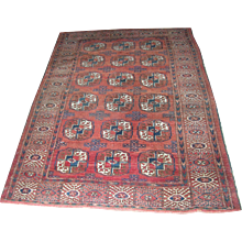 Vintage Bokhara Area Rug