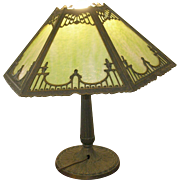 Vintage Pittsburg Lamp & Glass Co. Table Lamp