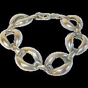 Vintage Sterling Link Bracelet