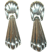 Vintage Sterling Drop Earrings